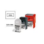 datowniki automatyczne plastikowe, datownik, pieczątka z datą